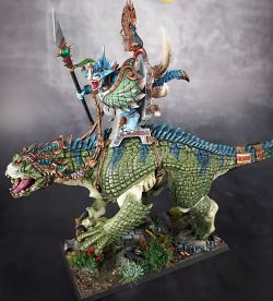 Saurus Scar-Veteran on Carnosaur