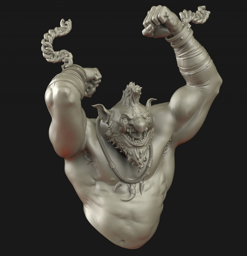 Krrrg! The troll - Ouroboros Miniatures