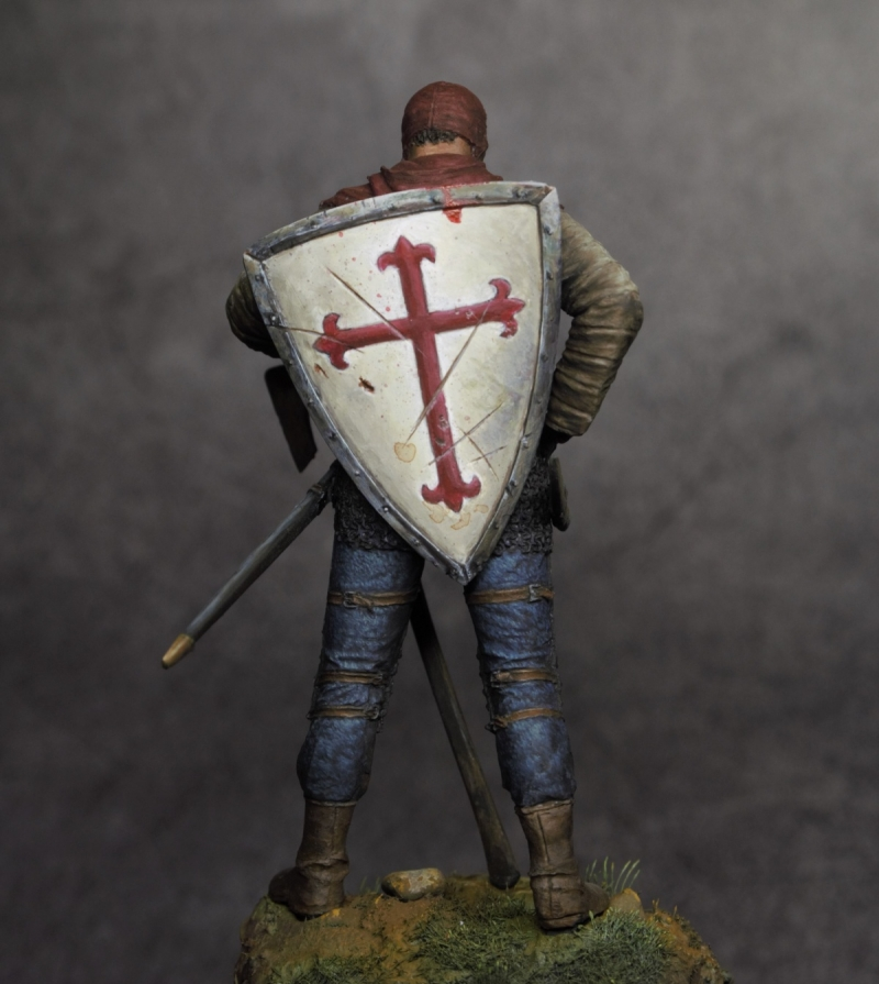 Mercenary XV th century Tartarminiatures 75mm