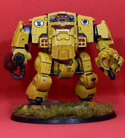 Imperial Fist Redemptor Dreadnought IX