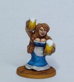 Dwarf Bar Maid