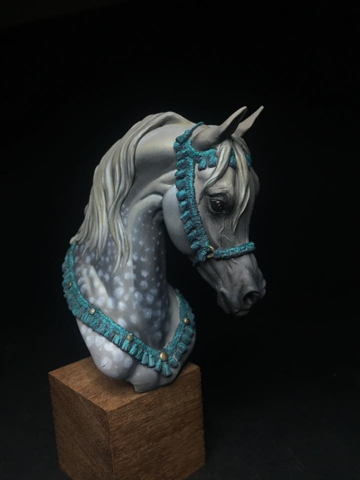 Arabian Head Horse