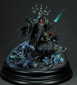 Abaddon the Despoiler vs Lt. Calsius