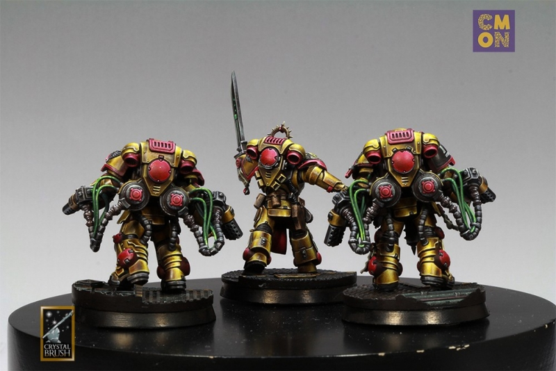 Golden Legion - Blood Angels successor chapter