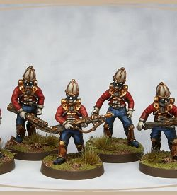Meridian miniatures British