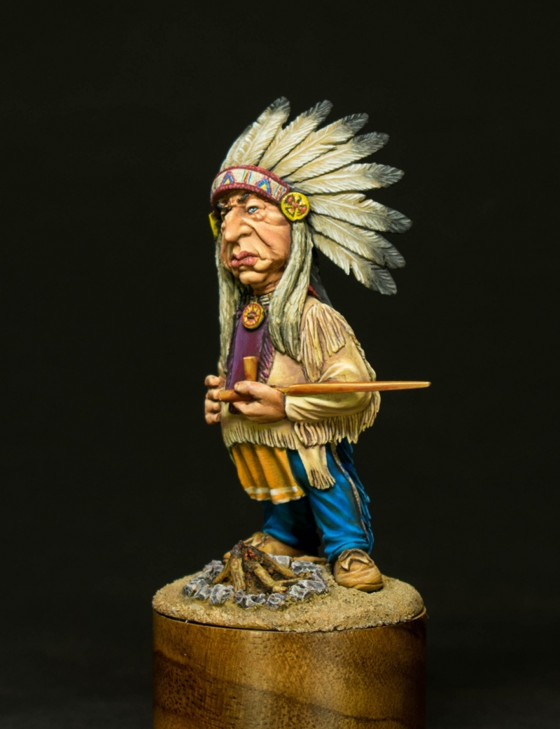 Wise Indian chief