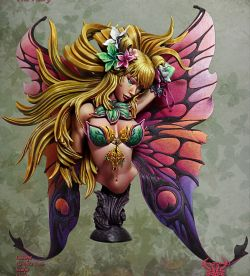 Dhalya, The fairy (Kimera Models Limited ED Boxart)