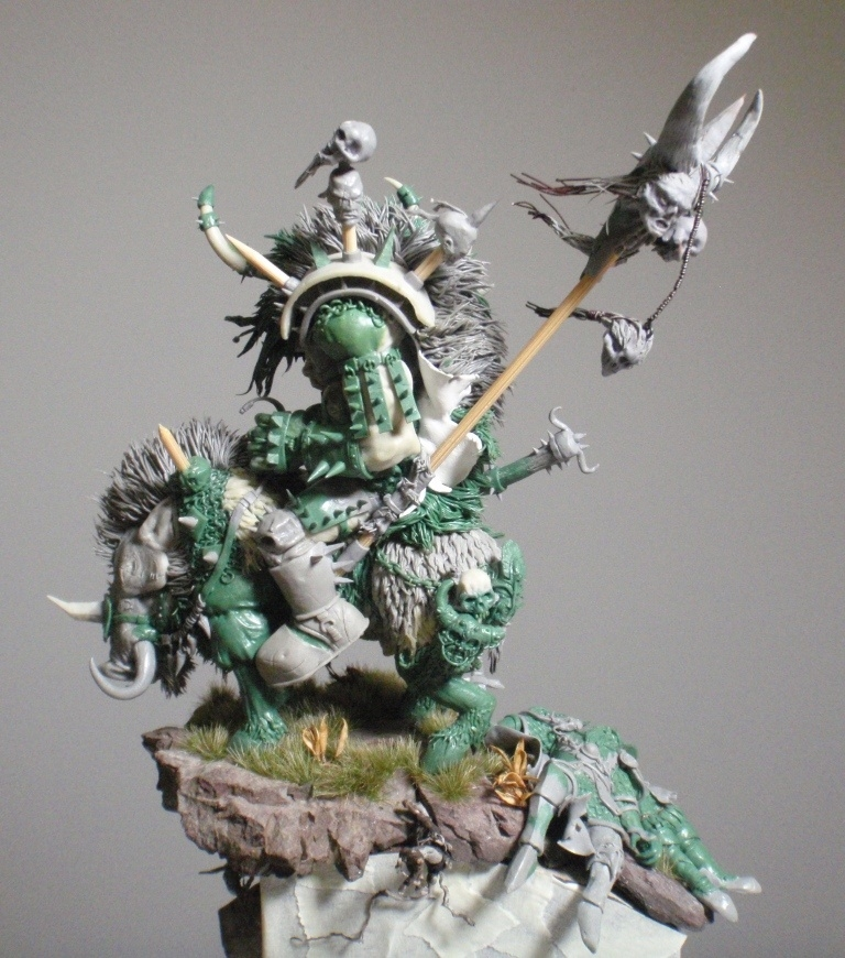 Blackorc Warboss Morglum Necksnapper