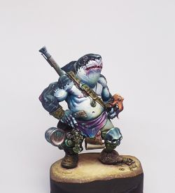 Dzhur-ghul the robber (Aradia Miniatures)