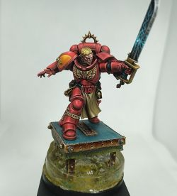 Tolmeron. Blood Angels Primaris Lieutenant