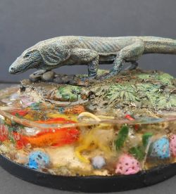 Komodo Dragon 28mm Reaper Miniature