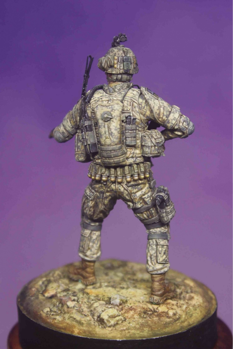 1/35 US army modern soldier
