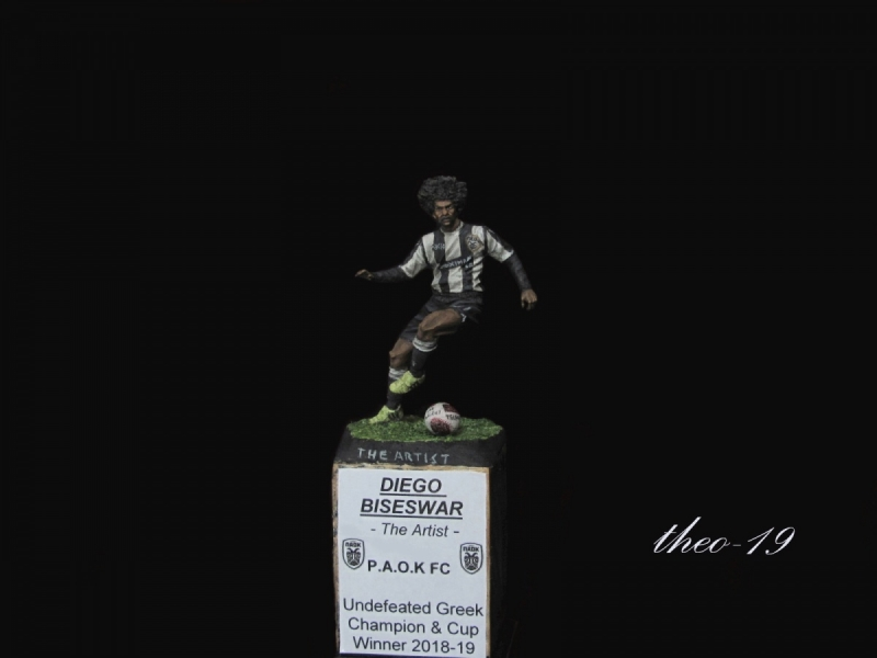Diego Biseswar (PAOK F.C) 54mm - Conversion