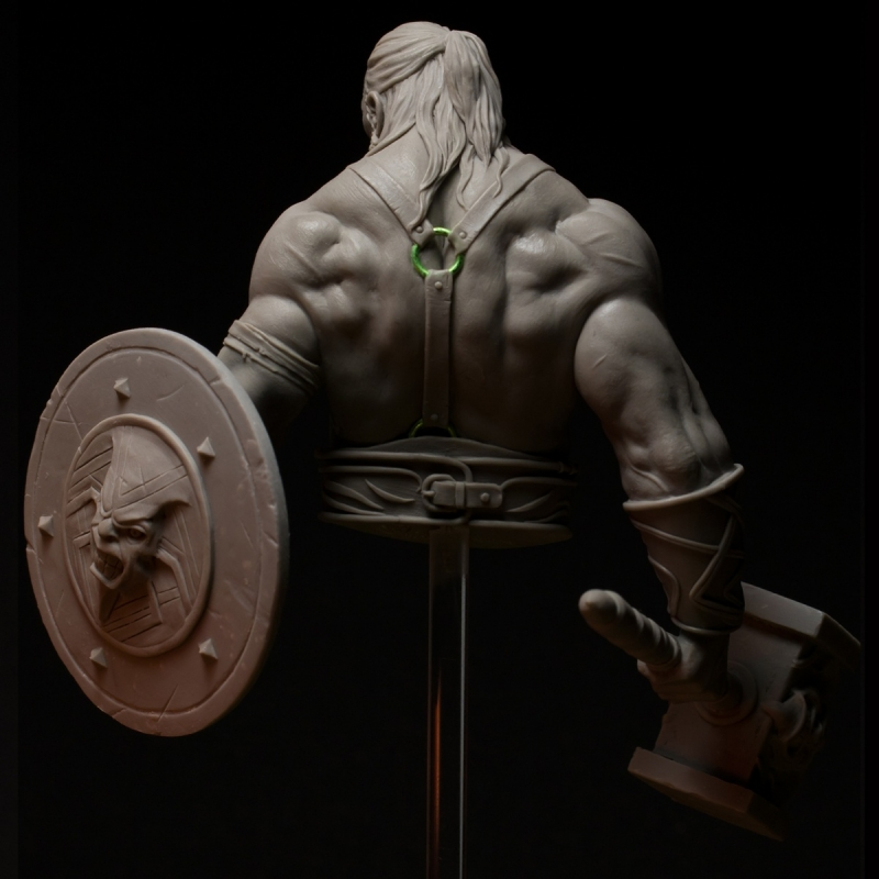 Bress, The Old Barbarian