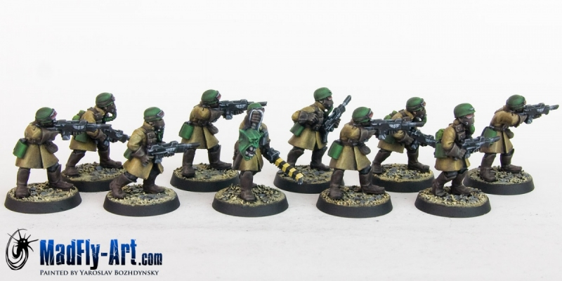 Steel Legion Infantry Squad 8