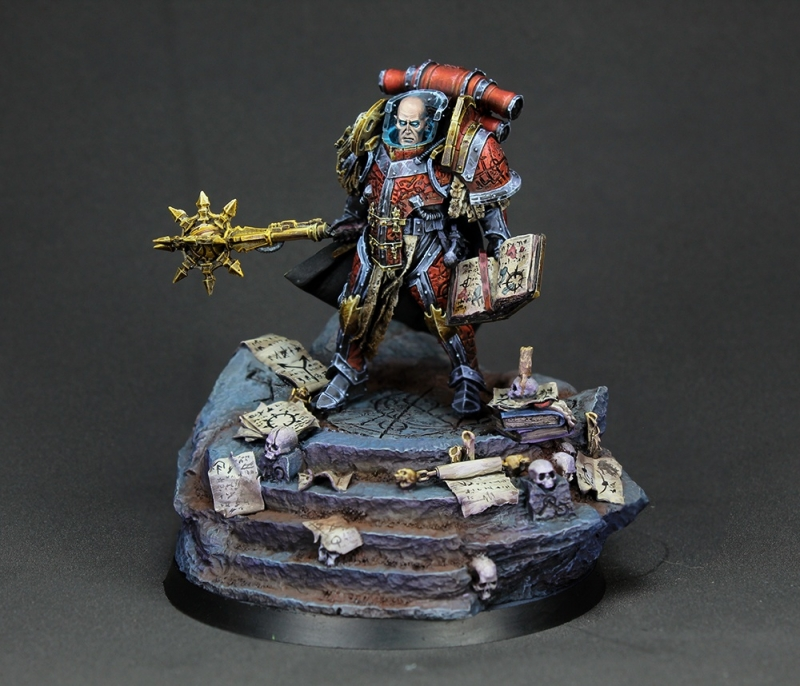 Lorgar Primarch of the Word Bearers