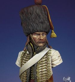 French Hussar, 5th Regiment, Elite Company, Borodino, 1812
