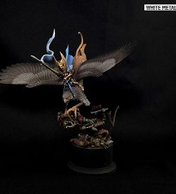 High Elf Prince on Griffin Display Diorama