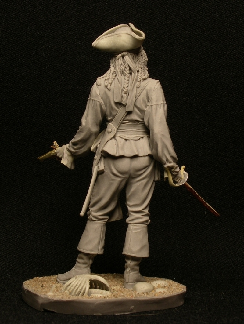 Caribbean pirate. 75 mm