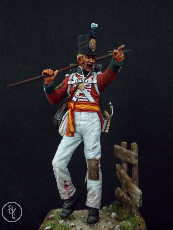 Sergeant of the 88th Regiment - 1812
