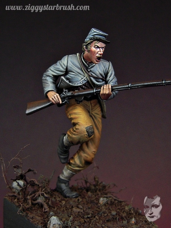 Confederate Infantryman, 17th Alabama