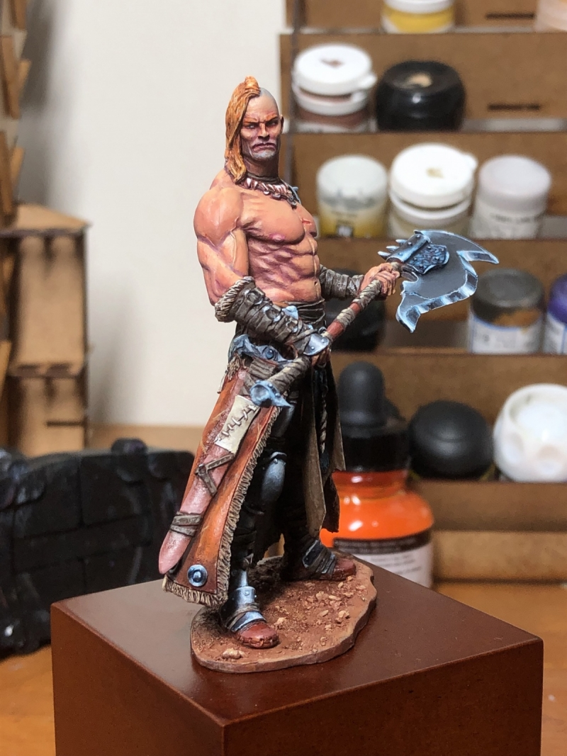 Speed paint Barbarian