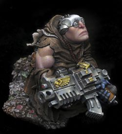 The Hope: combat servitor closeups
