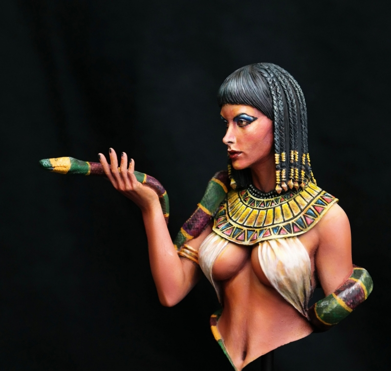 cleopatra 1/12 Bust