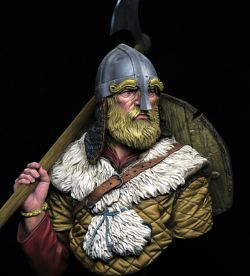 VIKING WARRIOR (YOUNG miniatures 1/10 Bust)