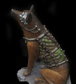 Imperial shepherd closeup set 1