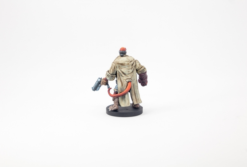 Hellboy from Mantic's Boardgame