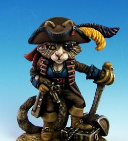 Dark Sword Minatures Pirate Cat - Sparrow v1