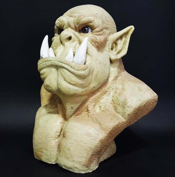 Orc inspired in Warcraft
