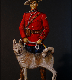 Royal Canadian Mounted Policeman (Mountie), 1980