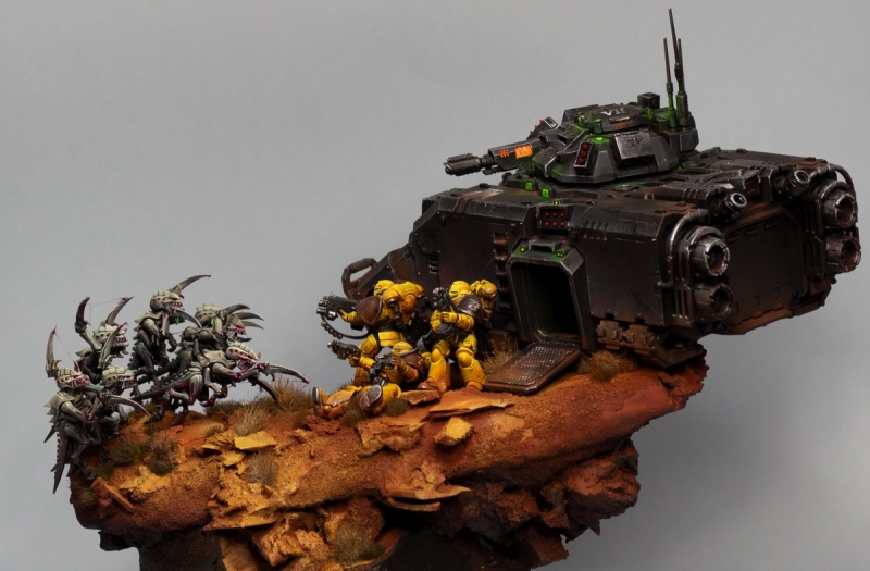 Extraction Point - Diorama