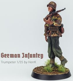 My first 1/35 WW2 figure