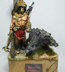 Hercules (Herakles) and Cerberus