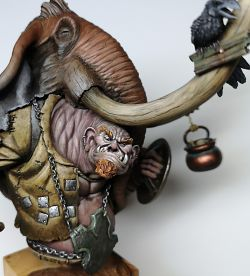 Bograth the Hunter, Journeyman Miniatures
