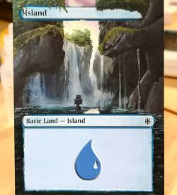Magic: The Gathering - Island alter