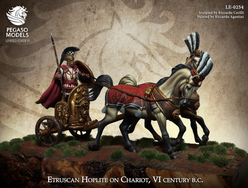 Etruscan Hoplite on Chariot
