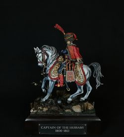 Captain of Hussars,1806-12