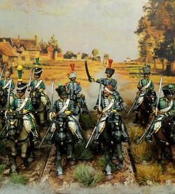 1st regiment of italian chasseurs a cheval