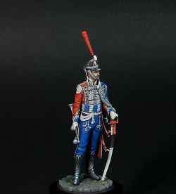Trumpeter of Russian,Izumskiy regiment 1811-1814