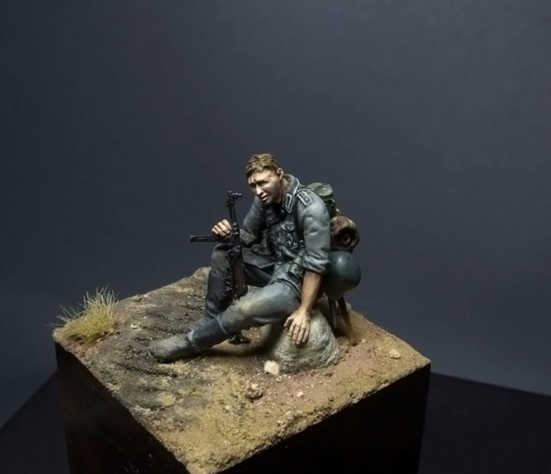 1/35 Stalingrad figures German at rest
