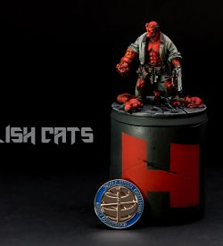 Hellboy and the hellish cats