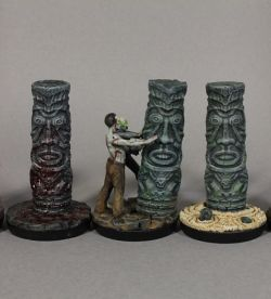 Corrupted idols, marker for Malifaux
