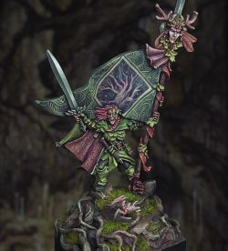 Wood Elf Standard Bearer