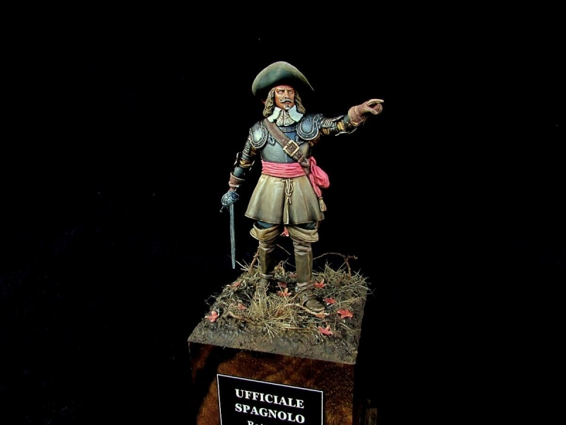 Spanish Officer Rocroi 1643