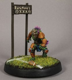 Bloodbowl, Slann team, slann linemen