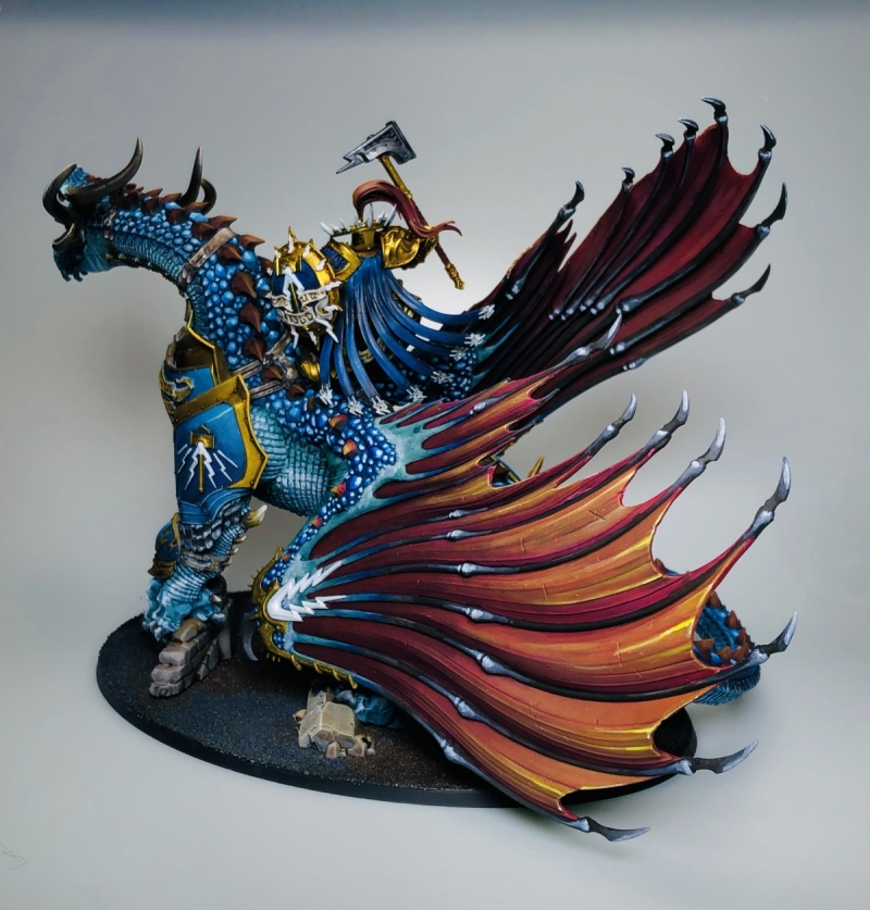 Lord Celestant on Stardrake
